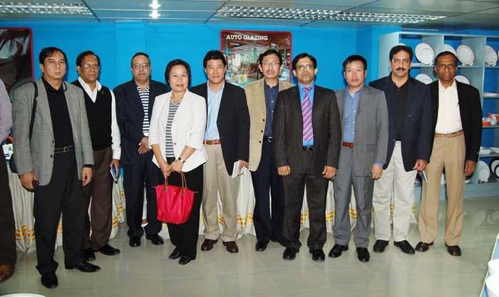 Ambassadors of 6 Asian Countries visit Manufacturing Facilities of Shinepukur Ceramics Ltd.